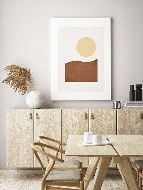 desain dapur minimalis artistik