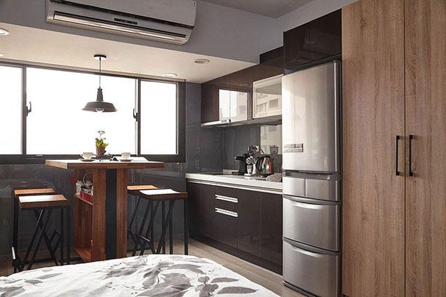 dapur dan ruang makan sempit