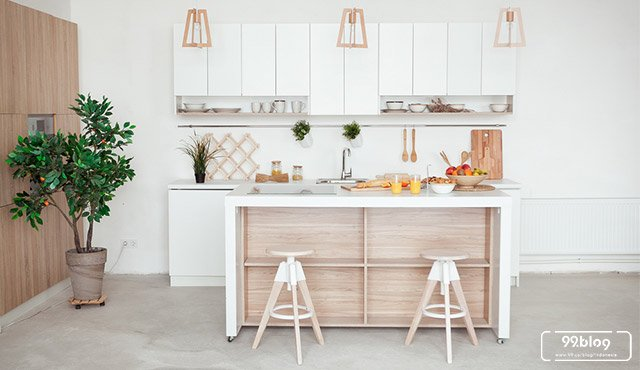 7 Tips Menata Dapur Kecil tapi Rapi. Memasak Jadi Lebih Nyaman!