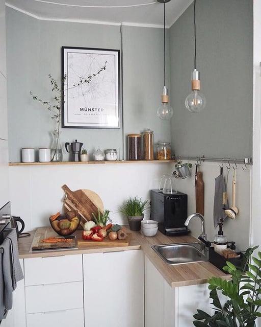 menata dapur minia