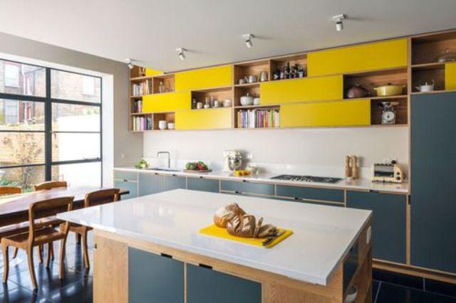 dapur biru tua
