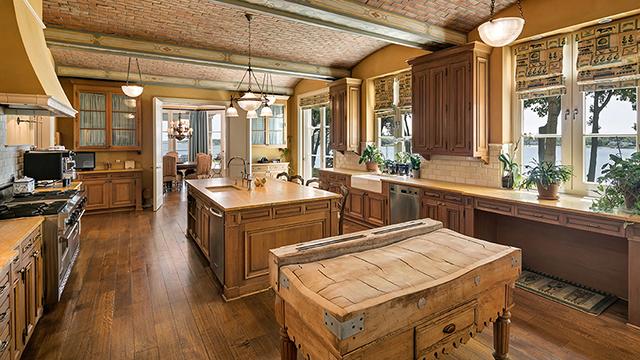 dapur rustic
