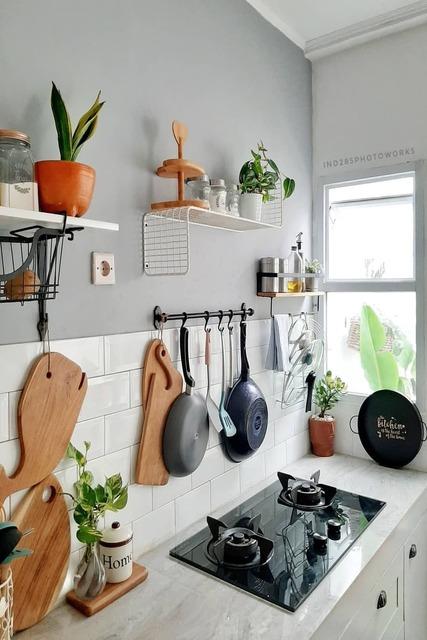 dapur monokrom