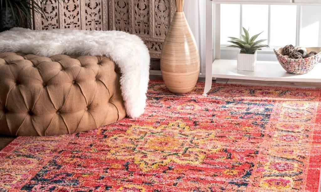 dekorasi karpet persia di rumah