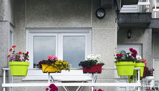 dekorasi balkon