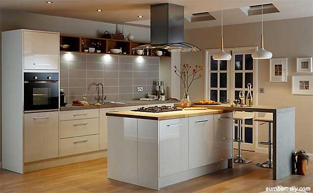 dekorasi dapur kecil