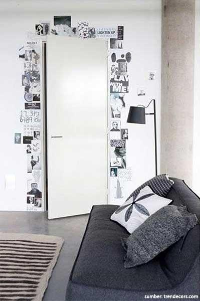 dekorasi dinding dari kertas