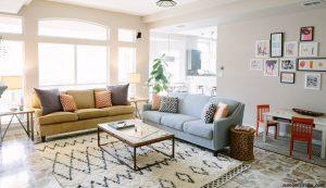 gambar dekorasi ruang keluarga