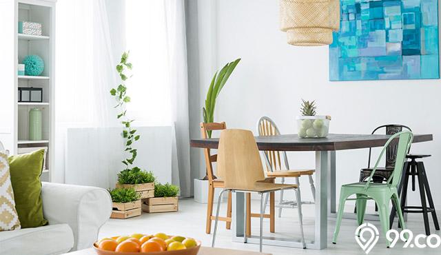 7 Dekorasi Ruang Makan yang Bikin Rumah Makin Terasa Nyaman