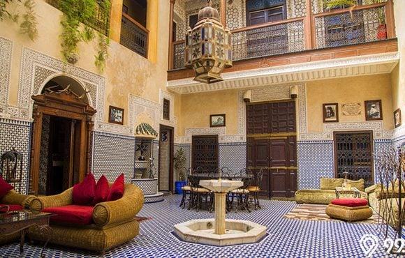 dekorasi rumah arabian