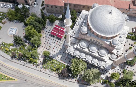 denah masjid