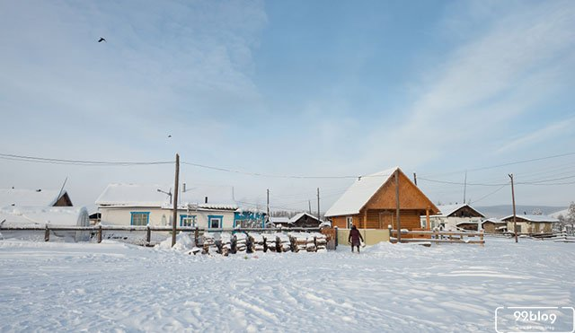 desa terdingin di dunia