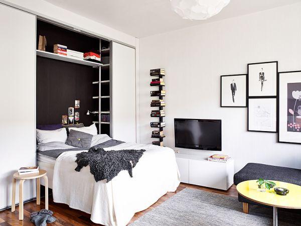 desain apartemen 25 meter persegi