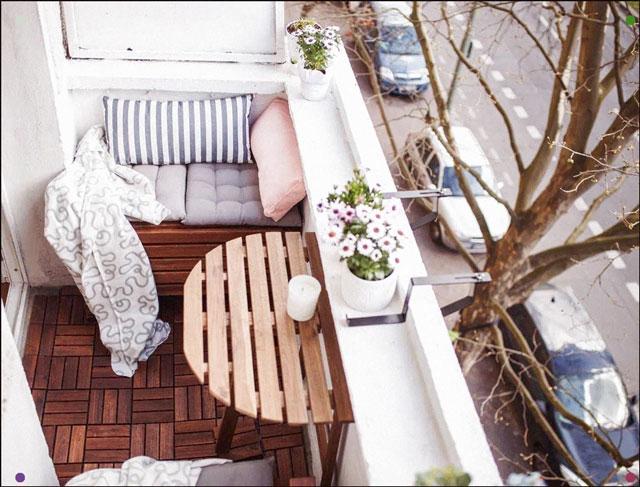 balkon cantik mungil