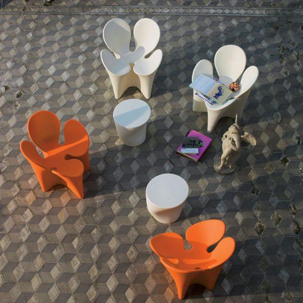 desain bangku taman