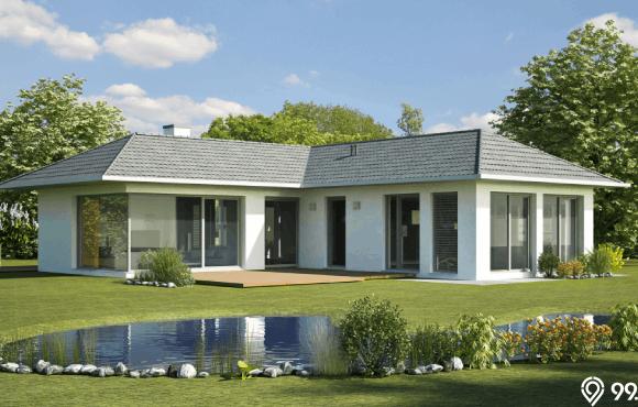 desain bungalow minimalis
