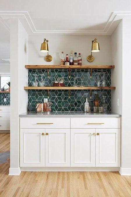 desain dapur bersih modern