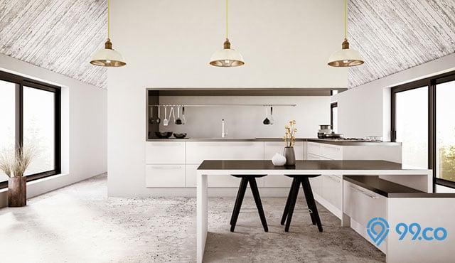 Mengintip 7 Desain Dapur Bersih untuk Rumah Minimalis. Inspiratif!