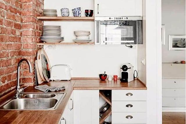 desain dapur minimalis 3x3 industrial minimalis