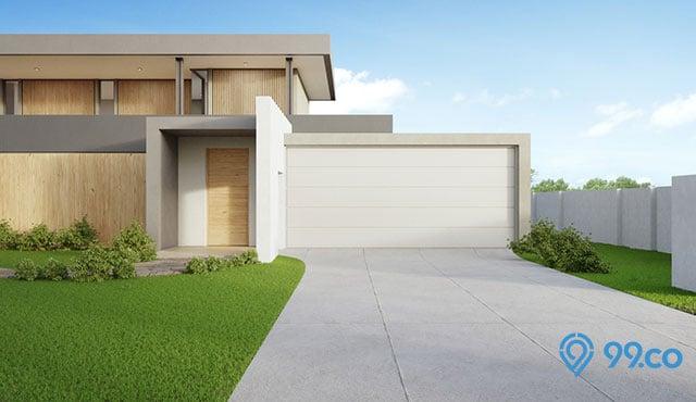 7 Desain Garasi Minimalis Samping Rumah 2020 Futuristik Abis