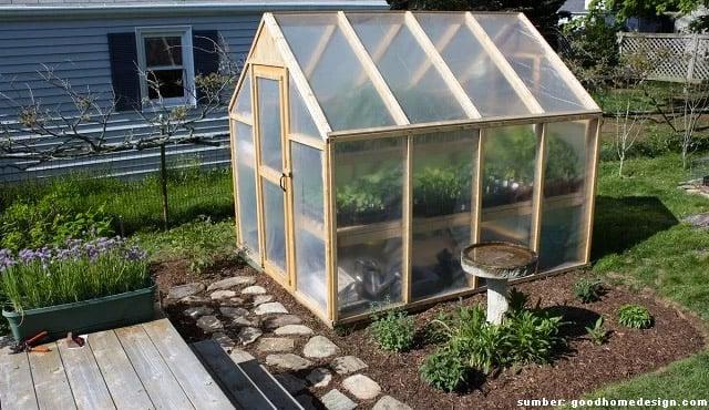 Desain Greenhouse Rumahan Simpel Bikin Tanaman Sehat