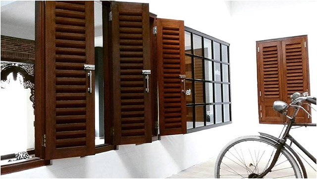 Jendela Kayu Klasik Inspirasi Desain Untuk Hunian Modern Klasik