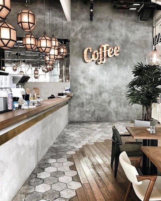 desain kafe industrial - 5 Desain Industrial Minimalis yang Simpel dan Keren untuk Kafe Mungil
