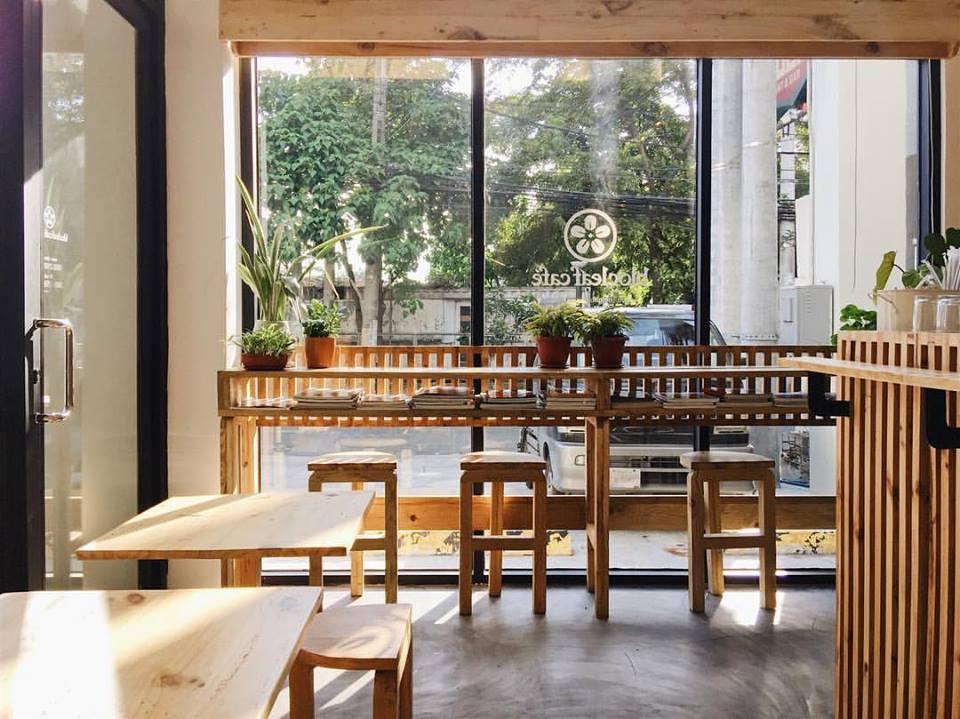 desain kafe minimalis terbuka