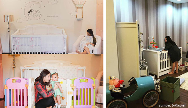 7 Desain Kamar Anak Artis Indonesia. Lucu dan Mudah Ditiru di Rumah!