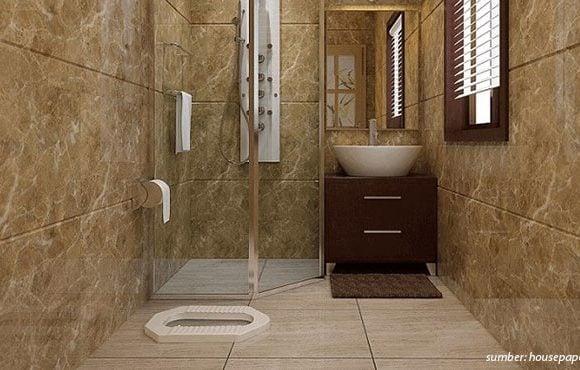 desain kamar mandi jongkok