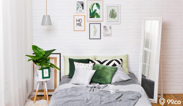 desain kamar tidur tropis