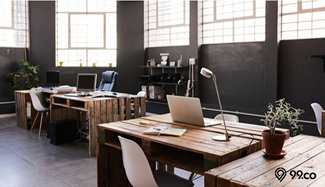 desain kantor industrial