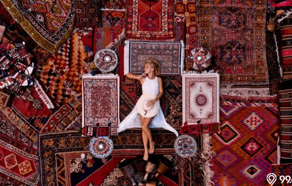 desain karpet permadani rumah