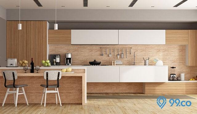 Berkarakter Kuat, Ini Dia 8 Inspirasi Desain Kitchen Set Kayu yang Bikin Dapur Terlihat Rustic