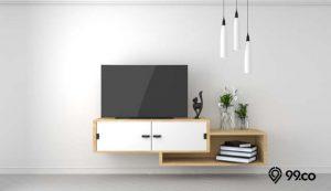 desain rak tv minimalis dan unik