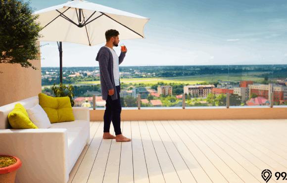 desain rooftop rumah terbaik