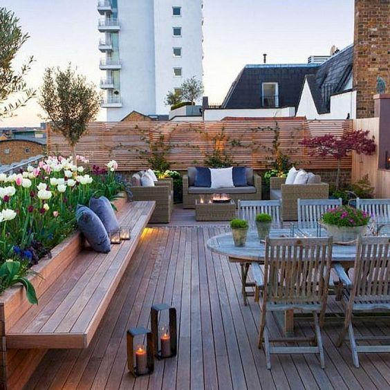 desain rooftop rumah
