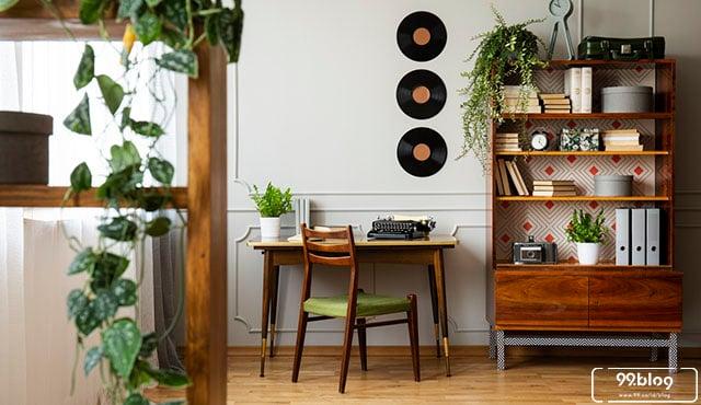desain ruang kerja sempit