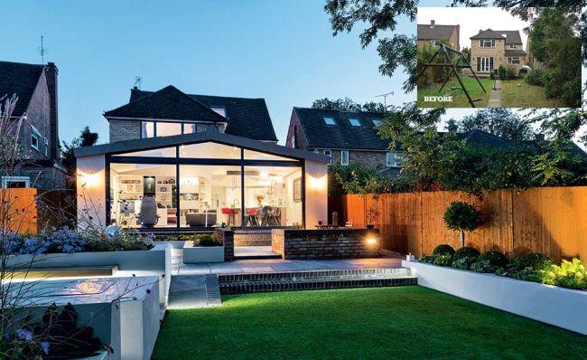 desain rumah luas