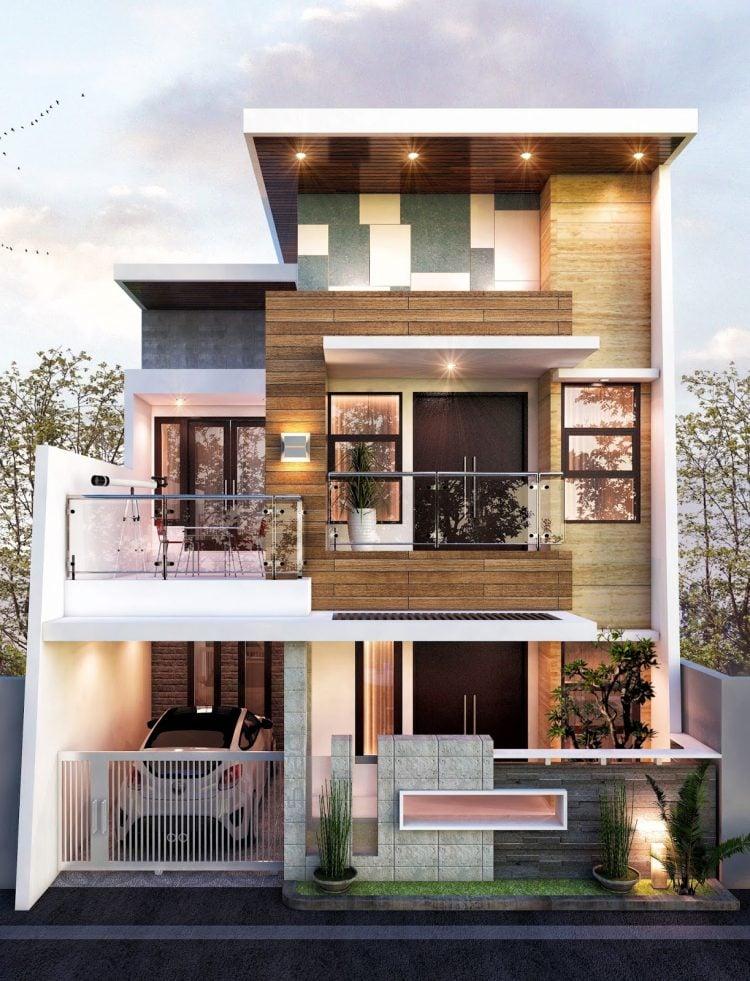 20 Desain Fasad Rumah Minimalis Eksterior Hunian Modern Berkelas