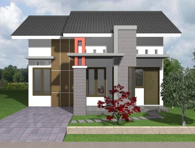 desain rumah minimalis 2 lantai yang asri