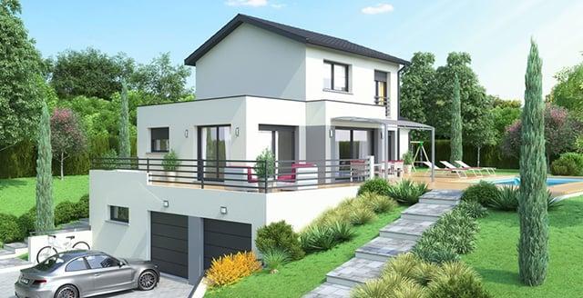 Desain Rumah Tanah Miring Plus Tips Membuatnya Kokoh