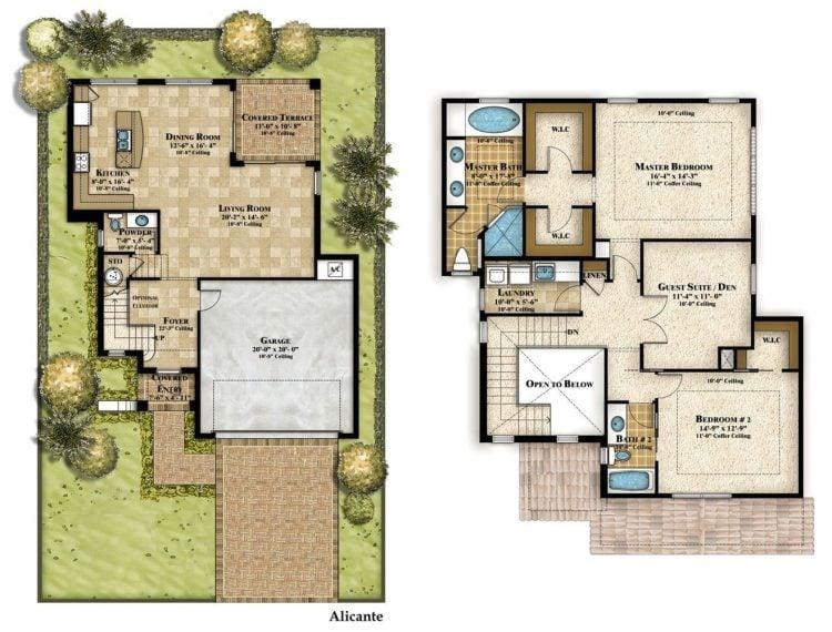 Inspirasi Denah Rumah 2 Lantai Type 36 Dan Panduan Pembagian Ruang
