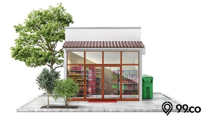 8 Inspirasi Desain Warung dan Toko Kelontong Minimalis di Rumah Serta Area Lainnya