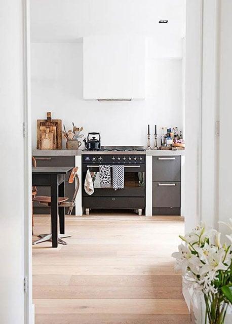 desain dapur minimalis prancis