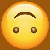 emoji senyum terbalik