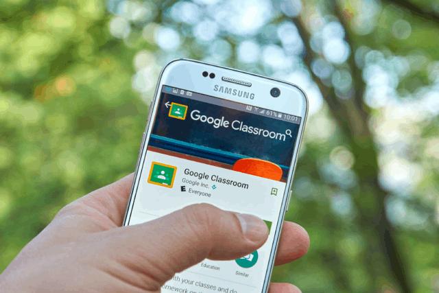 google classroom android