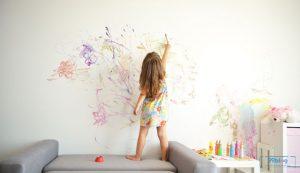 cara membersihkan dinding