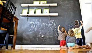 dinding papan tulis