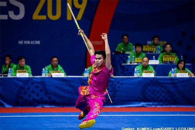atlet wushu edgar xavier SEA Games 2019